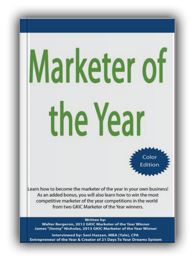 marketer of the year book